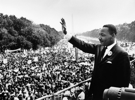 Martin Luther King Jr. at the March on Washington for Jobs and Freedom