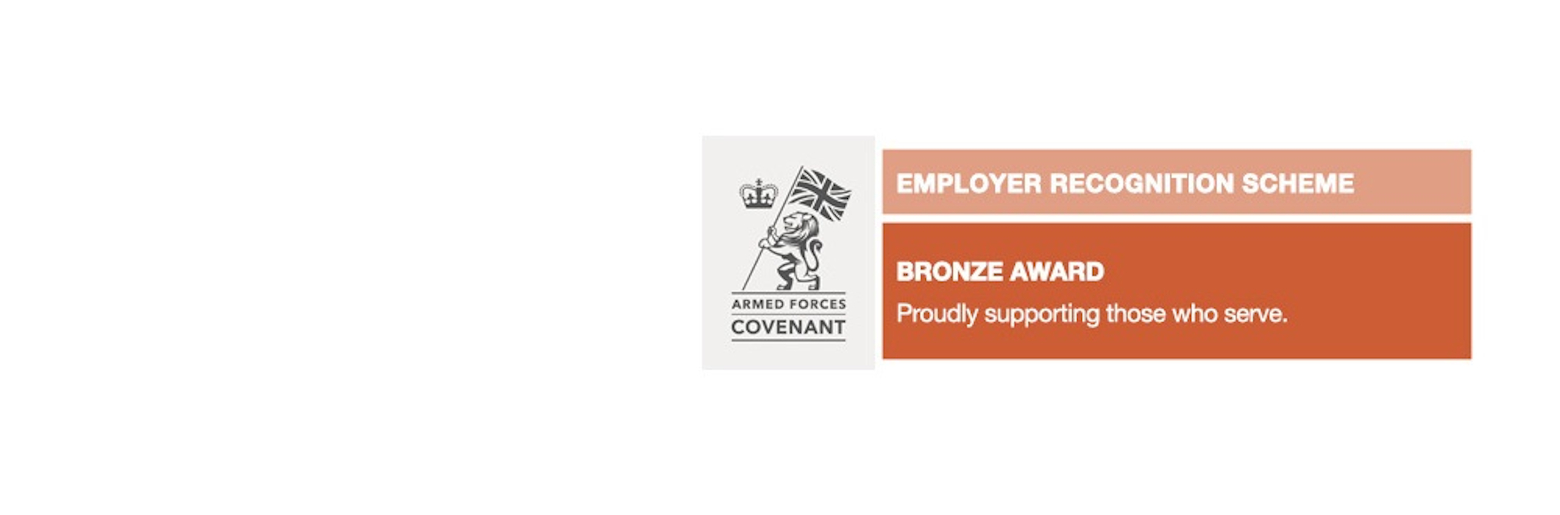 Armed Forces Covenant Employer Recognition Scheme Bronze Award