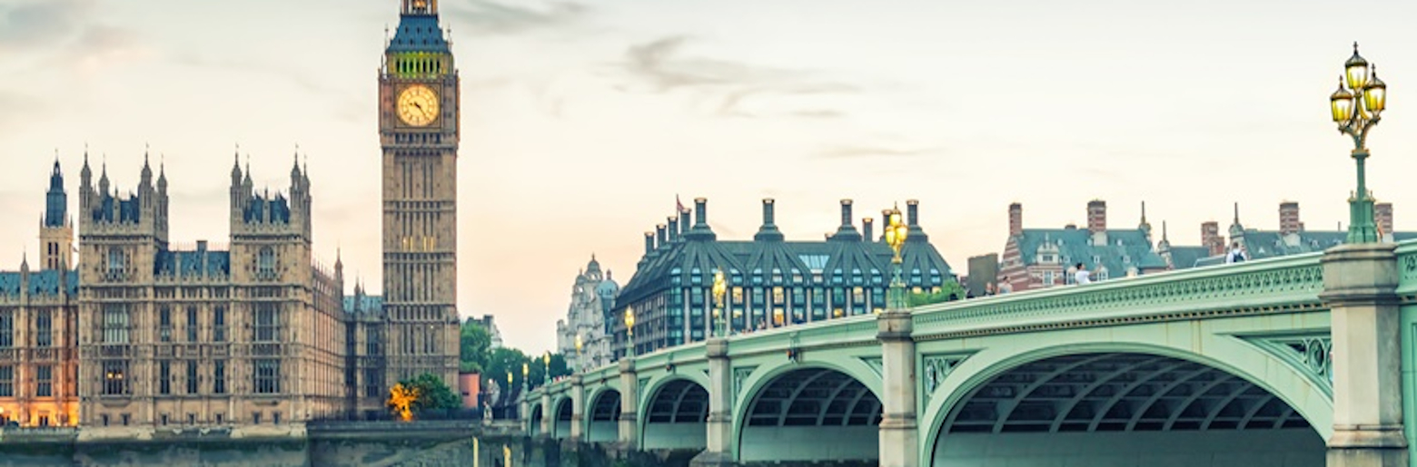 Photo of London, UK. Houses of Parliament in Westminster.