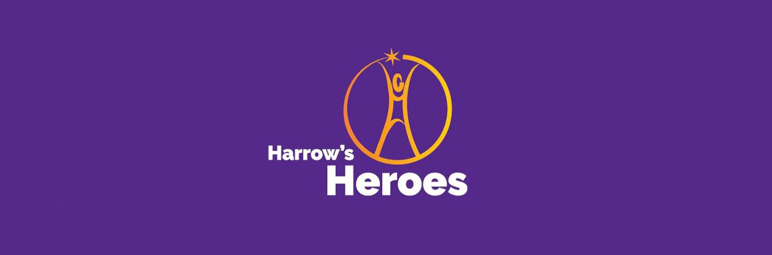 Photo of the Harrow's Heroes logo