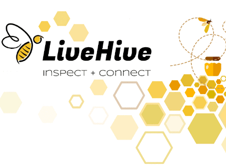 Photo of the Live Hive Inspect and Connect logo