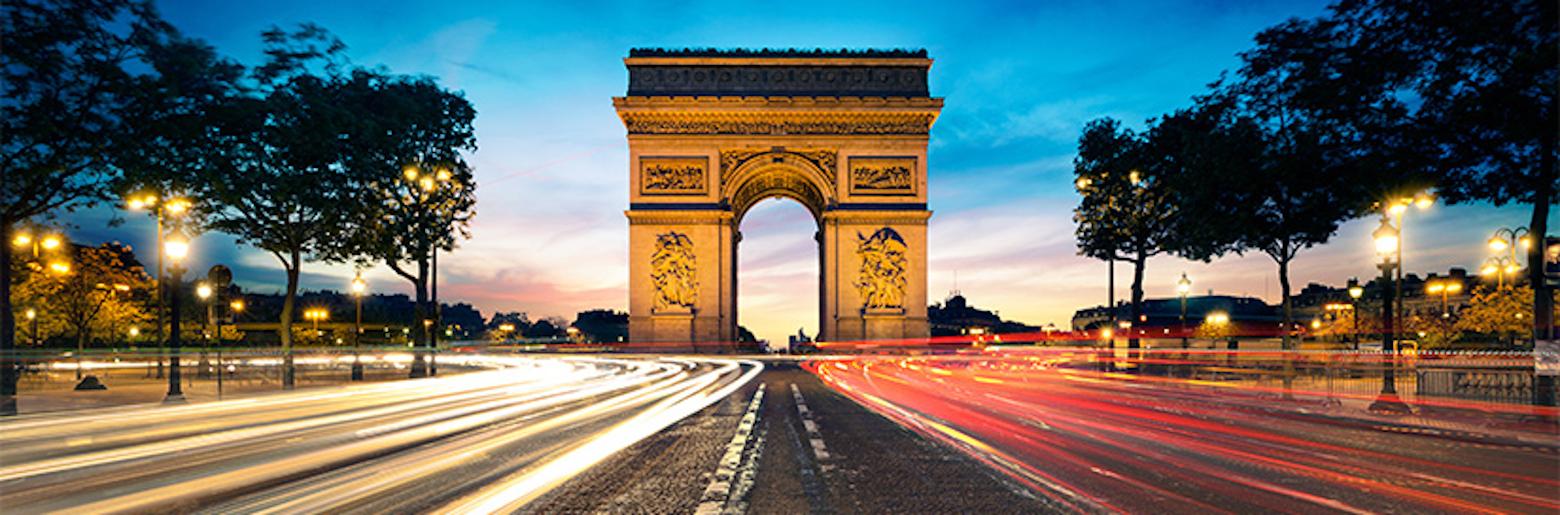 Photo of the Arc de Triomphe