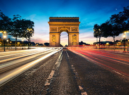 Photo of the Arc de Triomphe