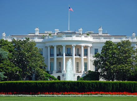 Photo of the Whitehouse in the USA