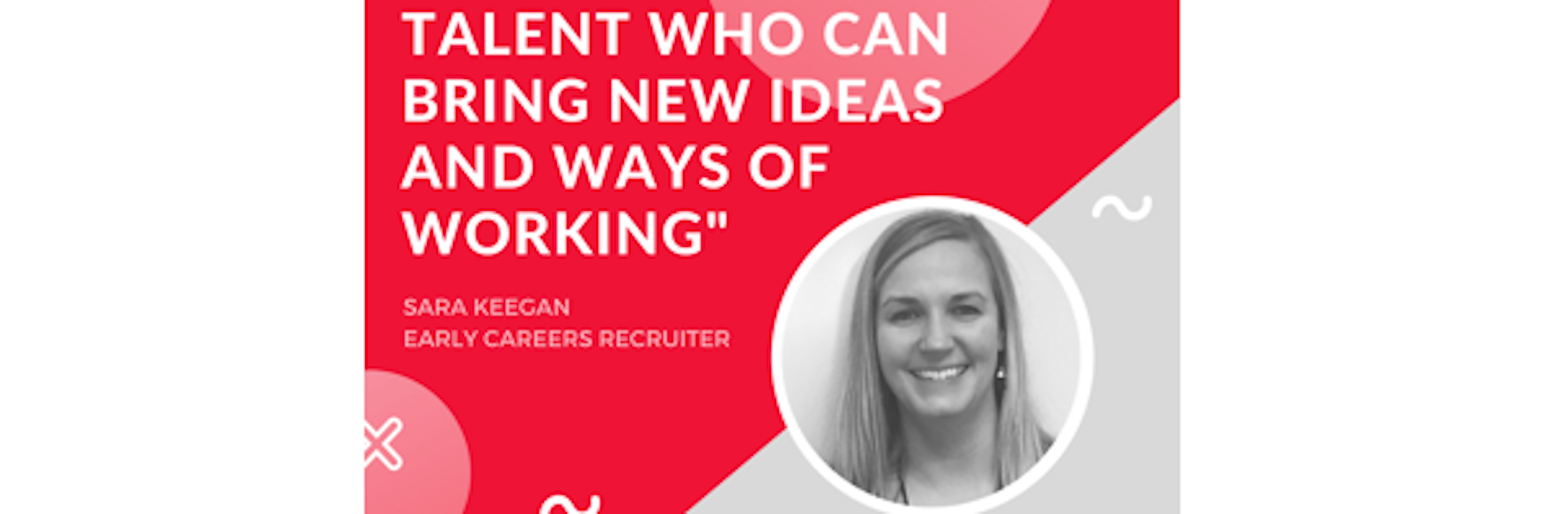 Talent who can bring new ideas