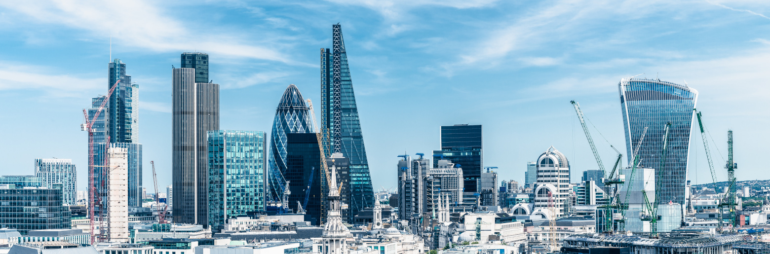 Photo of the City of London skyline during day time